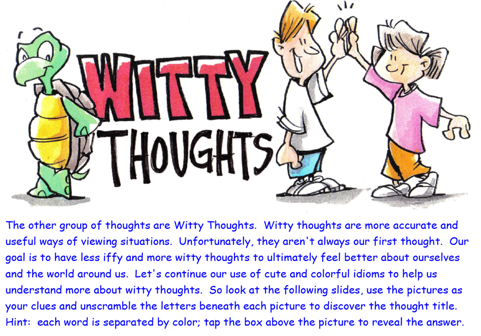 Witty Thoughts - 1